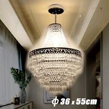 Kristall LED Deckenleuchte Kronleuchter Deckenlampe Hängeleuchte Pendelleuchte