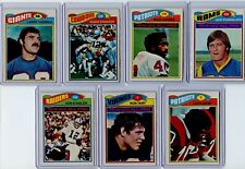 1977 Topps 13 Card Group Lot With HOFs and Stars Inc. Csonka, Staubach, Haynes