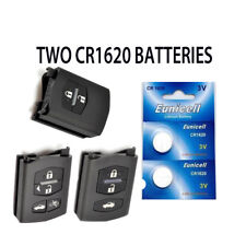 2 NEW MAZDA BT-50 2 3 5 6 CX-7 MX-5 RX-8  BUTTON REMOTE KEY FOB BATTERIES CR1620