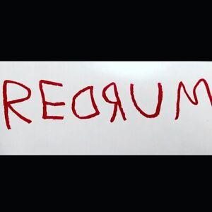 The Shining| Redrum|Horror| Scary|Vinyl|Decal|Classic Horror|Jason|Freddy|IT