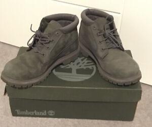 "Timberland ""Nellie Chukka"" Womens Grey Boots Size 5"