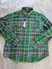 a616dfef0a2ddc Karierte Ralph Lauren Herren-Freizeithemden   -Shirts mit Kentkragen ...