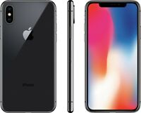 Apple iPhone X - 64GB - Space Gray - Fully Unlocked 4G LTE Smartphone - A1865