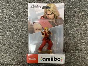 Street Fighter Ken No.69 Amiibo Figure BRAND NEW Nintendo UK Stock