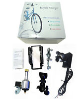 Cycling Bike Bicycle Dynamo Generator USB Charger + Holder for GPS Smart Phones