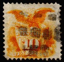 United States Scott 116 (1869) Used G-F, CV $110.00 C
