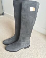 Dolce&Gabbana Women's Grey Suede Leather Boots, UK Size 5! Original Price £600!