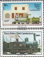 Türkisch-Zypern 197-198 (kompl.Ausg.) postfrisch 1986 Eisenbahnverkehr