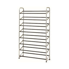"NEW 50"" x 29"" x 9"" Metal 8-Tier Shelf Storage Closet Organizer 30-Pair Shoe Rack"