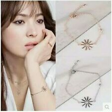 "#3017 New Fashion ""descendants of the sun"" the Daisy Flower Chian Bracelets"