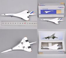 1:400 Scale Airplane Model Concorde AirFrance1976-2003 Aircraft Vehicles Toys