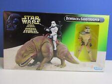Nouveau POTF STAR WARS DEWBACK Sandtrooper Power of the Force Action Figure Set Z99