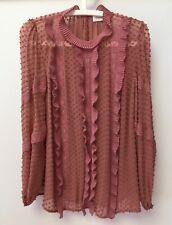 Zimmerman silk chiffon top, size 2