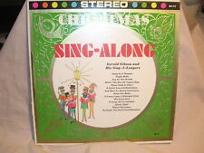 Gerald Gibson and His Sing A Longers Sing Along Christmas Hurrah Records VG/ VG