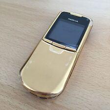 Nokia 8800 Classic Gold Original Full Box (ohne Simlock) w. Neu!