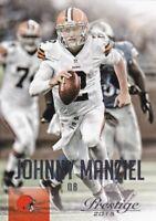Johnny Manziel  2015 Panini Prestige Football Sammelkarte, #70