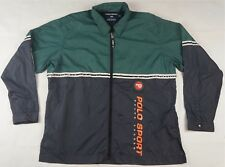 Rare VTG RALPH LAUREN POLO SPORT P Spell Out Windbreaker Jacket 90s Stadium SZ L