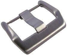 22mm Panatime Brushed Watch Buckle - Spring Bar Attachment For Bell & Ross