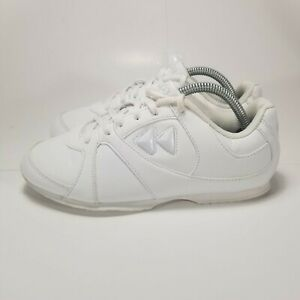 Kaepa Womens Cheerful Cheerleading Shoes White 6315 Lace Up Low Top 5M