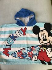 Micky Mouse Poncho Towel 2-4 Years