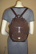 Vintage Bottega Veneta Leopard Print Backpack Style Handbag