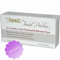 Frownies Facial Patches For Wrinkles on Foreheads, Eyes 144 patches EUROPE stock