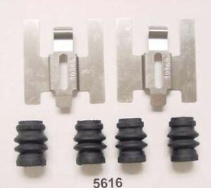 Disc Brake Hardware Kit Front Parts Plus P5616