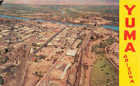 Postcard Aerial View Of Yuma, Arizona