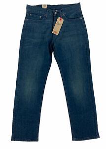 NEW Levi's Strauss 541 Athletic Taper Stretch Dark Blue Mens Denim Jeans 31x30