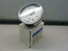 "ASHCROFT 25W1005H02B-30#  0-30 PSI PRESSURE GAUGE  2-1/2""- Size       (21526)"