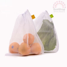 D.line Mesh Produce Bags Set of 5 Kitchenware Storage Food Cover 30cm X 35cm