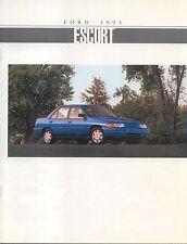 Ford Escort LX & GT 1994 Original Canadian Sales Brochure
