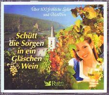 Schütt die Sorgen in ein Gläschen Wein Reader's Digest  3 CD Box  OVP