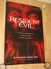 "Resident evil ""A SECRET EXPERIMENT"" Poster 101 x 68 cm VERY RARE"