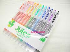 Pilot Juice LJU120EF-12C 0.5mm Retractable Rollerball Gel Ink Pen, 12 Pens Set