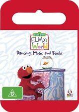 Elmo's World: Dancing, Music and Books (DVD, 2008) - Region 4