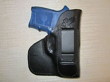 Smith & wesson bodyguard 380, IWB & POCKET, formed leather holster, right hand