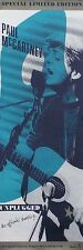 Paul Mccartney 1991 Unplugged Original 2-Sided Promo Poster