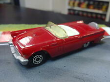 Matchbox Ford Thunderbird 1957 1:63 rood