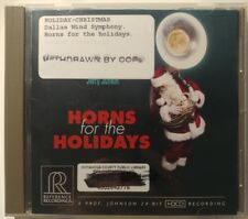 Horns for the Holidays CD Jerry Junkin Reference Records