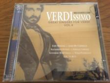 "VERDI ""Verdissimo - Great Singers For Verdi V4"" 2cd Set NEW Caruso/McCormack"