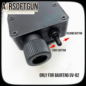 M116 PTT with TWO button For Baofeng UV-82