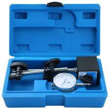 Test Precision Measuring Dial Indicator Gauge Magnetic Base Set Resolution 0.001
