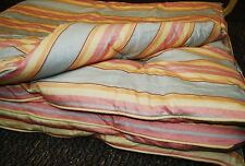 Ralph Lauren RHYS STRIPE TWIN SIZE BED COMFORTER - Tag clipped/Small Hole