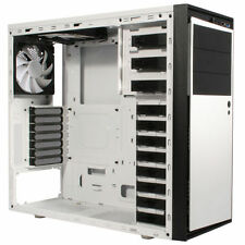 NZXT SOURCE S210 ELITE WHITE USB3.0 TOWER PC GAMING COMPUTER CASE & COOLING FANS