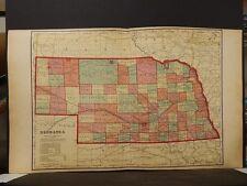 Nebraska State Map, 1903  K7#01