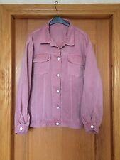 Stylenanda Korea Pink Denim Jacket Oversized Kpop