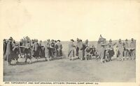 Camp Grant Illinois~Officers Training~Topography & Map Drawing~c1917 Postcard