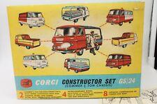 CORGI TOYS * GIFT SET 24 * COMMER CONSTRUCTION SET * OVP * 1:43