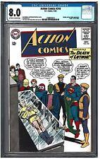 ACTION COMICS #318 CGC 8.0 (11/64) DC comics Brainiac and Lex Luthor